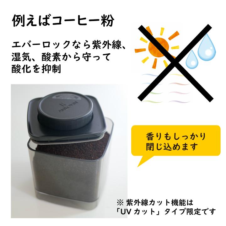 ANKOMN_アンコムン_密閉容器エバーロック(Everlock)_コーヒー粉の保存に